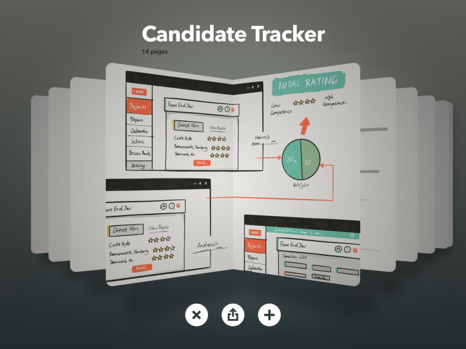 Ideations Grace Experience Candidate Tracker